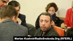 Геннадий Корбан в зале суда, 28 декабря 2015