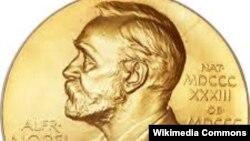Медаль, вручаемая лауреату Нобелевской премии