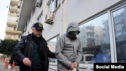 Задержанный в Анталии гражданин России, фото bizimantalya.com