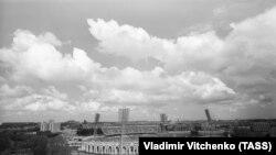 """Стадион """"Динамо"""". Подготовка к XXII Олимпийским играм, 1980 год"""