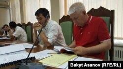 Процесс в Верховном суде Кыргызстана по пересмотру дела Азимжана Аскарова