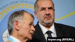 Рефат Чубаров и Мустафа Джемилев