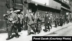 Русская освободительная армия в Праге. Май 1945