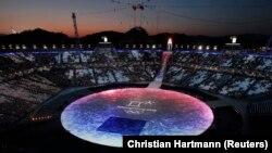 Церемония закрытия зимней Олимпиады в Пхёнчхане