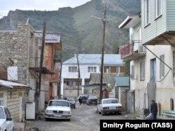 Улица в одном из сел Гунибского района Дагестана