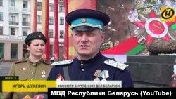 Министр внутренних дел Игорь Шуневич в форме НКВД