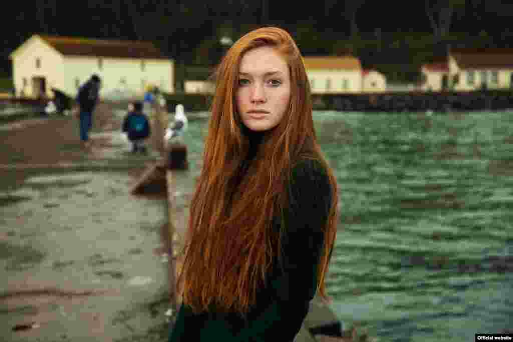 "Сара, жительница Сан-Франциско, США, фотопроект ""Атлас красоты"" (Atlas of Beauty) Микаэлы Норок (Mihaela Noroc)"