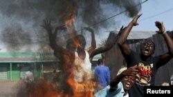 Протесты в Бурунди против решения президента изменить Конституцию