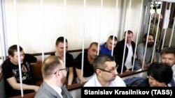 Украинские моряки в суде, 17 июля 2019 года