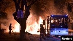 Последний крупный взрыв произошел в Анкаре 17 февраля 2016 года