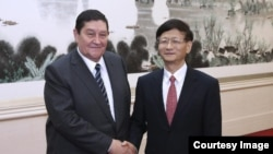 Иноятов во время визита в Китай