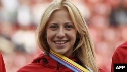Кристина Сивкова – одна из российских спортсменок, которой разрешили выступать на международных соревнованиях под нейтральным флагом