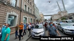 Митинг в поддержку Сергея Фургала, Владивосток
