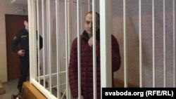 Александр Лапшин в суде Минска