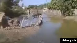 Наводнение в Туркменистане