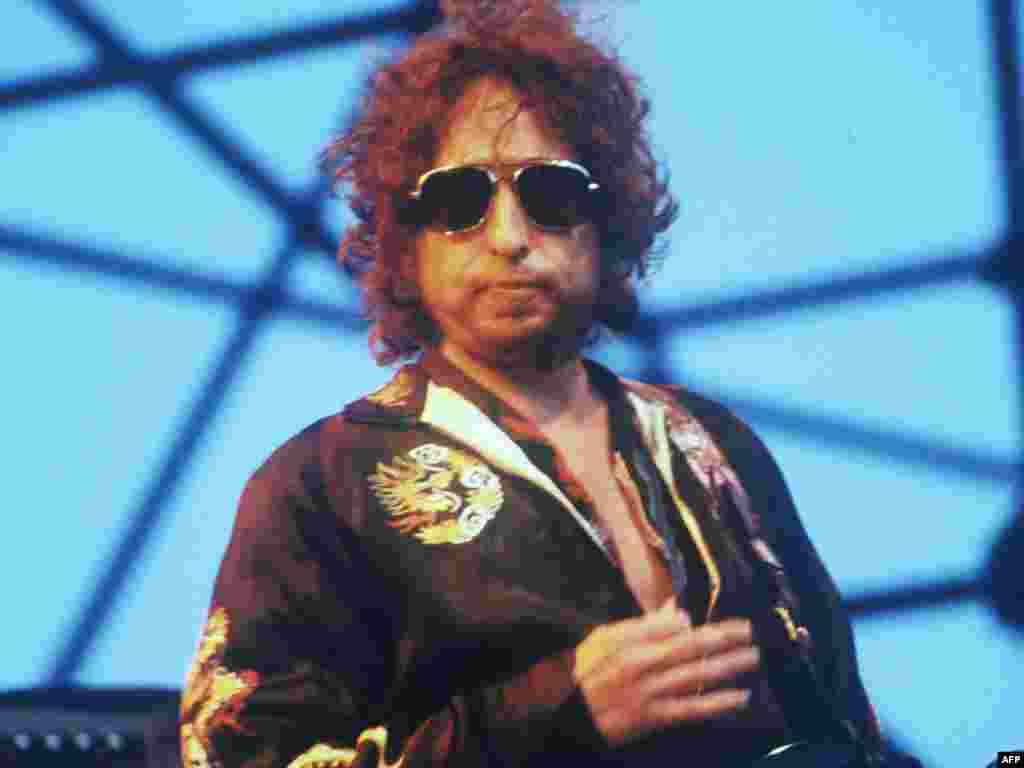 Дилан в Тулузе в июле 1981-го.