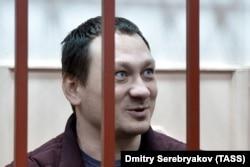 Игорь Ляховец в Басманном суде. Фото: ТАСС