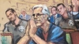 U.S. - Jeffrey Epstein looks on during a a bail hearing in U.S. financier Jeffrey Epstein's sex trafficking case, in this court sketch in New York, U.S., July 15, 2019