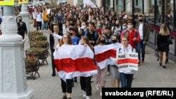 Спонтанные акции студентов жестко разгонялись силовиками