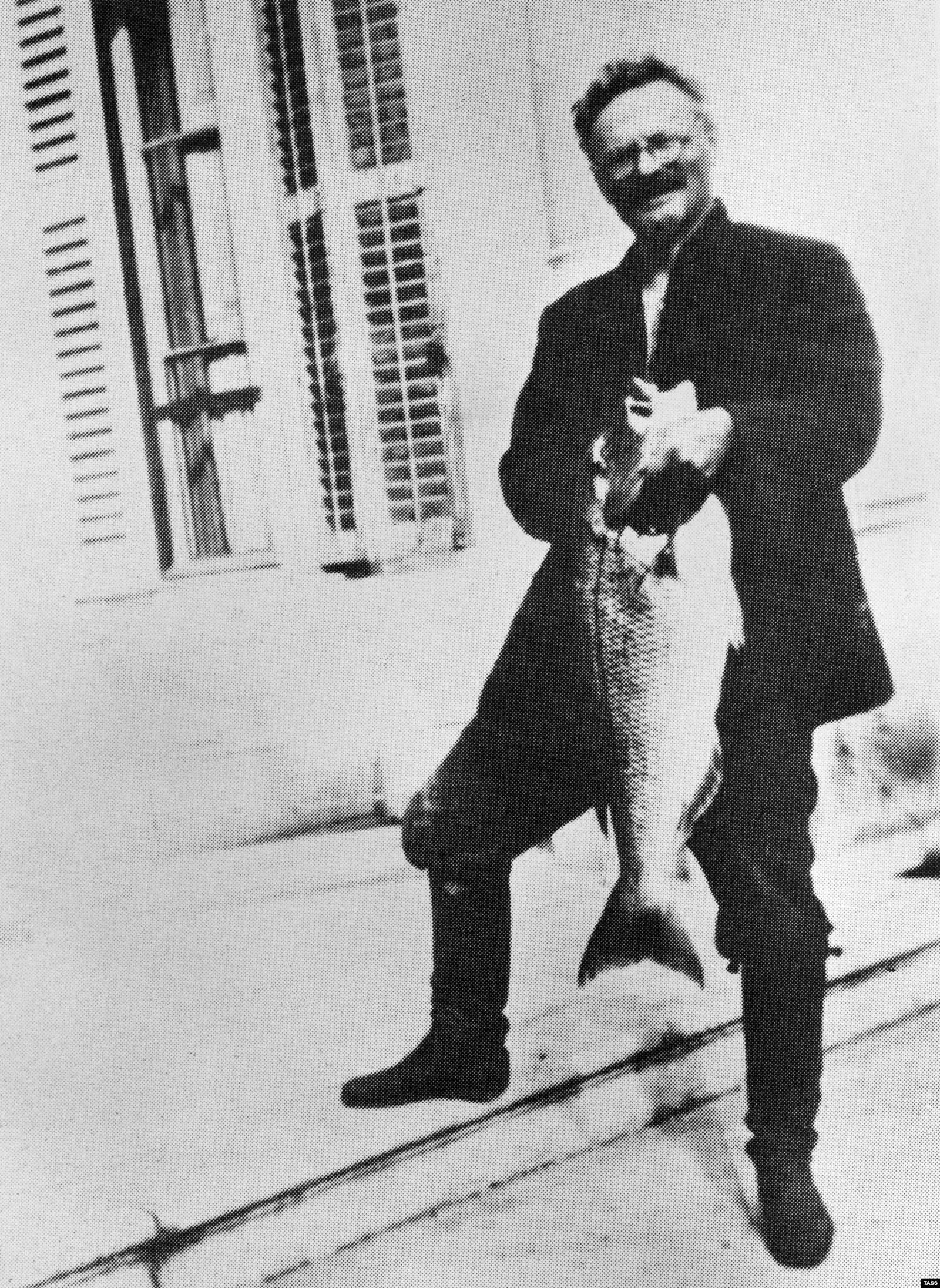 Лев Троцкий в Мехико в 1934 году. Фото: ТАСС