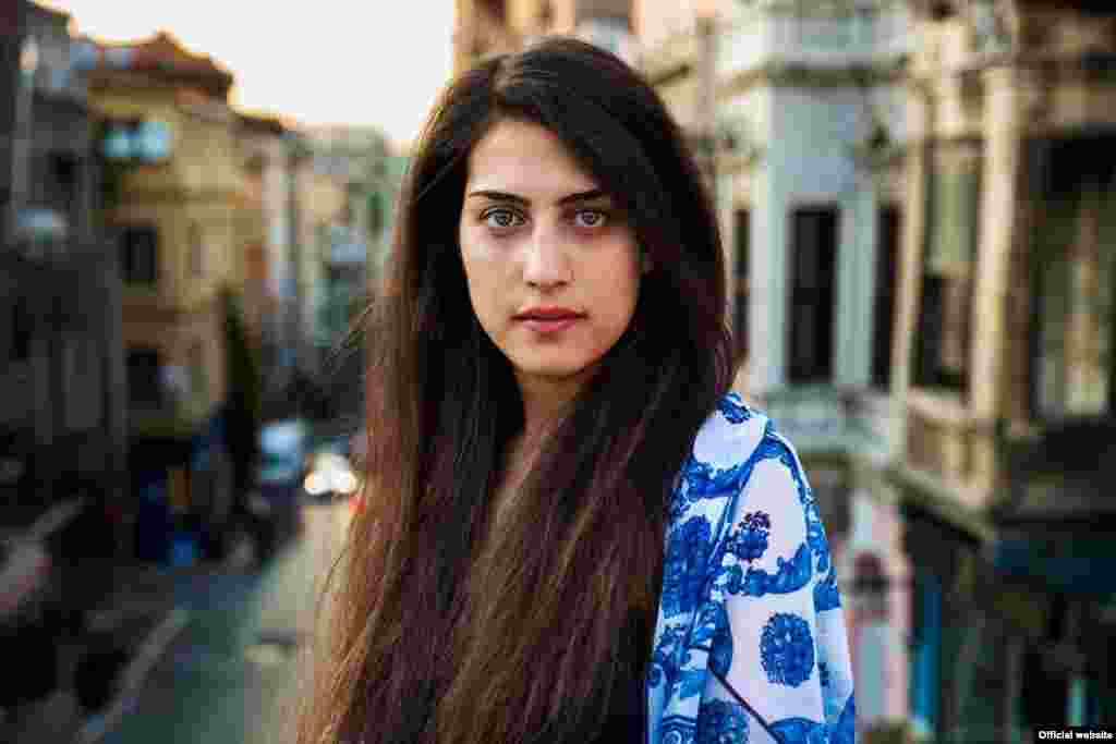 "Сирийская женщина в Стамбуле, Турция, фотопроект ""Атлас красоты"" (Atlas of Beauty) Микаэлы Норок (Mihaela Noroc)"