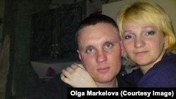 Дмитрий Маркелов с женой Ольгой