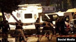 Обстрел консульства США в Стамбуле, фото Tgcom24