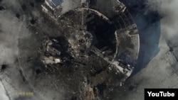 Донецкий аэропорт - вид сверху. Фотография с дрона