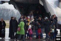 Эвакуация жителей Украины польского происхождения. 13 января 2015