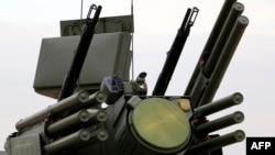 """Российский комплекс ПВО """"Панцирь"""""""