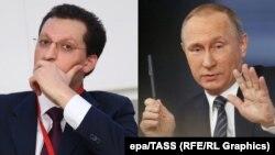 Кирилл Шамалов и Владимир Путин