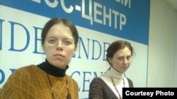 Надежда Низовкина (слева)