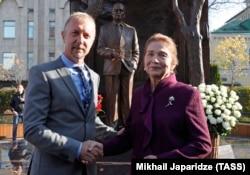 Пол Дэй с Татьяной Каримовой