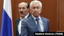 Владимир Васильев и экс-глава Дагестана Рамазан Абдулатипов