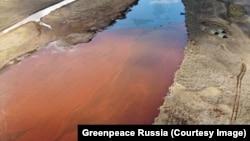Последствия разлива нефтепродуктов в Норильске, фото – Greenpeace Russia