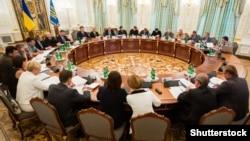 Заседание СНБО, Киев, 2 сентября 2015