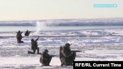 Российские учения в Арктике