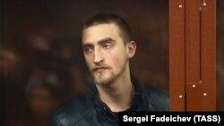 Павел Устинов во время оглашения приговора. Москва, 16 сентября 2019