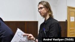 Андрей Баршай в Басманном суде 16 октября 2019 года. Фото: ТАСС