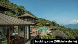 Курорт Four Seasons Resort, Сейшелы (фото из сайта booking.com)