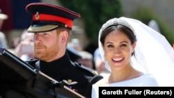 Принц Гарри и Меган Маркл поженились. Самые яркие фото