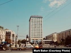 Hotel Unirea в румынском городе Ясси. Я останавливался здесь несколько раз, стоит отметить, что оттуда открывается хороший вид на город и площадь перед зданием
