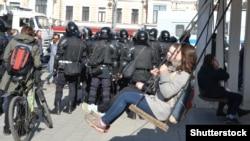 Антикоррупционный протест в Москве, 26 марта 2017