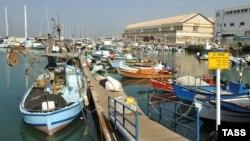 Район старого порта Яффо в Тель-Авиве
