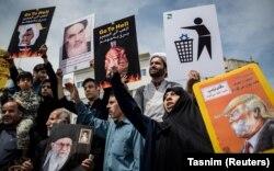 Протесты в Иране после того, как Дональд Трамп ввел санкции