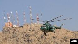 Вертолет Ми-17 в полете