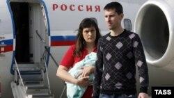 Елена Глищинская и Виктор Диденко в Москве
