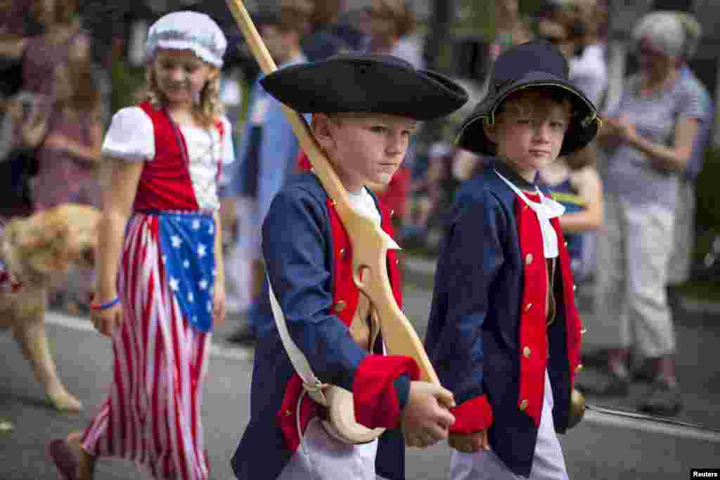 В этот день в 1776 году была подписана Декларация независимости колонии США от Великобритании