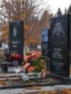 Grave of alleged Vagner fighter Andrei Elmeyev in Tolyatti, Russia