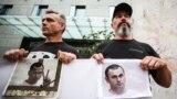 Протесты с требованиями освободить Олега Сенцова в Украине